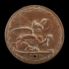 Griffin and Serpent Fighting [reverse], c. 1540.