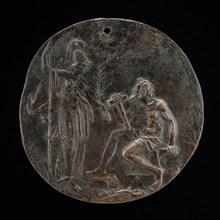 Minerva and Vulcan, late 16th century.