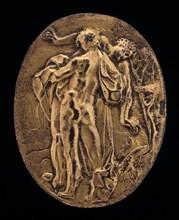 Hercules and Antaeus, 16th century.