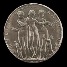 The Three Graces [reverse], c. 1550/1575.