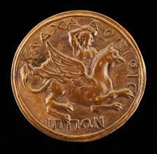 Antinous on a Griffin [reverse], probably 1500/1599. Probably Italian.