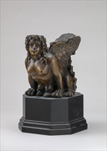 Object with Sphinx Head (Furniture Mount?), 16th/19th century.