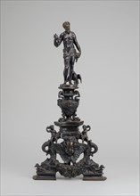Andiron with Figure of Jupiter, 17th/19th century.