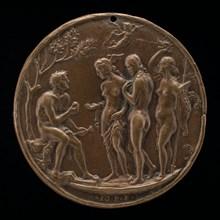 The Judgment of Paris, second half 15th century.