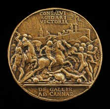 The Battle of Cannae [obverse], c. 1503.