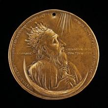 Heraclius I, c. 575-641, Roman Emperor 610 [obverse], 1402/1413.