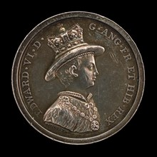 Edward VI, 1537-1553, King of England 1547 (Medal for the School of Christ's Hospital, Founded 1552) [obv], awarded 1846.