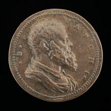 Benedetto Varchi, 1502-1565, Florentine Historian and Man of Letters [obverse], c. 1561.
