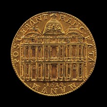 The New Louvre [reverse], 1624.