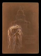 The Body of President Sadi Carnot Borne to the Panthéon [obverse], 1894.