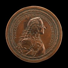 Voltaire, 1694-1778, Writer and Philosopher [obverse], 1770.