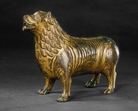 Aquamanile in the Form of a Lion, c. 1200.