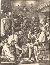 Christ Washing the Feet of the Disciples, probably c. 1509/1510.