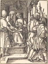 Pilate Washing His Hands, probably c. 1509/1510.