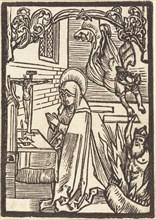 Saint Odilia, c. 1500.
