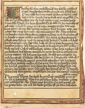 Exhortation Against Avarice, c. 1470/1475.