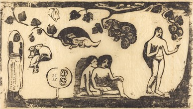 Women, Animals and Foliage (Femmes, animaux et feuillages), in or after 1895.
