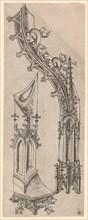 """Gothic Letter """"D"""", c. 1480/1500."""