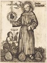 Sanctus Bernhardinus, 1450s.