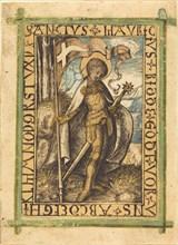 Saint Maurice, c. 1480/1490.