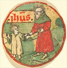 Joseph and the Christ Child, c. 1500.