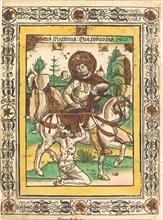 Saint Martin and the Beggar, c. 1490.