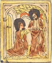 Doubting Thomas, c. 1460.