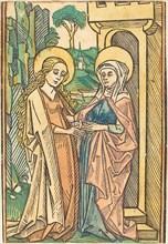 Visitation, 15th century.