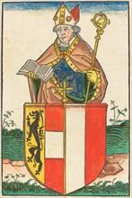 Friedrich Count of Schaumberg - Bishop of Salzburg, c. 1490.