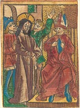 Before Caiaphas, c. 1490.