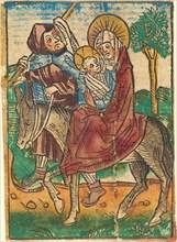 The Flight into Egypt, c. 1490.
