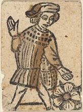 Playing Card, second half 15th century.