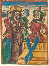 Christ before Pilate, c. 1490.