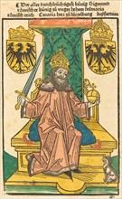 Kaiser Sigmund, 1483 or before.