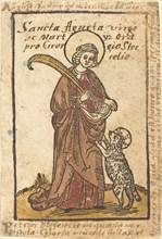Saint Agnes, c. 1490.