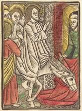 The Entry into Jerusalem, c. 1480.