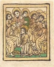 Christ Washing the Apostles' Feet, c. 1490.