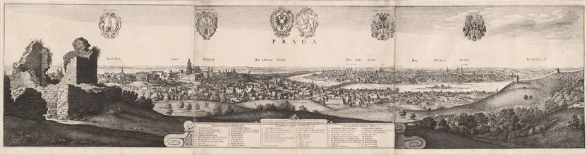 The Great View of Prague, 1649.