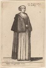 Ciuis Pragensis Filia, 1643.