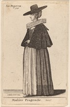 Mulier Pragensis, 1643.