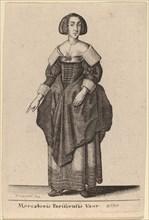 Mercatoris Parisiensis Vxor, 1643.