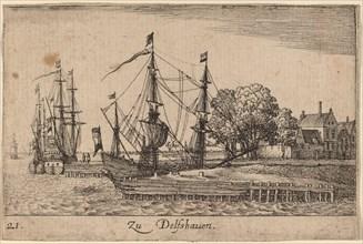 Delfshaven, 1635.