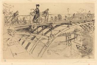 Bridge of Arts (Le pont des Arts), 1890.