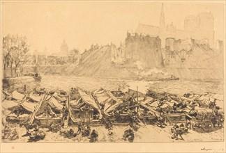 The Great Apple Market (Le grand marche aux pommes), 1891.