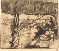 Under the Bridge of Bercy (Sous le pont de Bercy), 1894.
