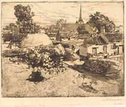 View of St.-Jean-de-Mont, Vendee (Vue de St.-Jean-de-Mont, Vendee), 1892.