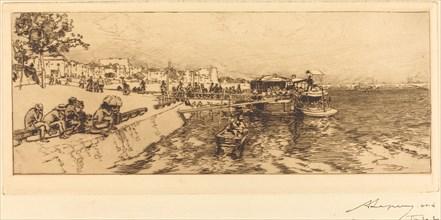 Pier of Bercy (Embarcadere, quai de Bercy), 1891.