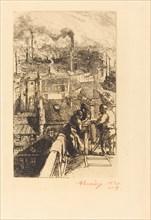 Gobelins Quarter (Le quartier des Gobelins), 1893.