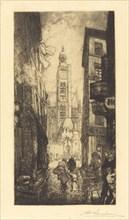 Rue de la Montagne-Sainte-Genevieve, Paris, 1906.