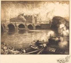 Le Pont Neuf, 1913.